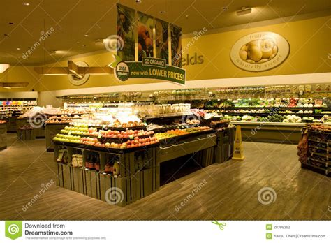 grocery store supermarket editorial photography image