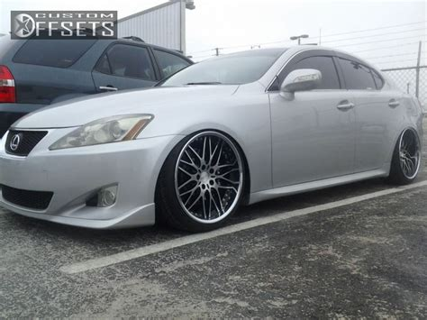 lexus is250 hellaflush wheel offset 2006 lexus is 250 hellaflush leveling kit