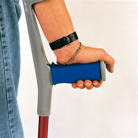 how to make crutches more comfortable on hands krukken adl