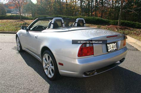 maserati cambiocorsa convertible 2004 maserati spyder cambiocorsa convertible 2 door 4