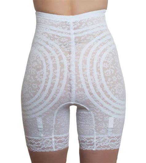 rago high waist long leg pantie girdles high waist long leg panty girdle rago