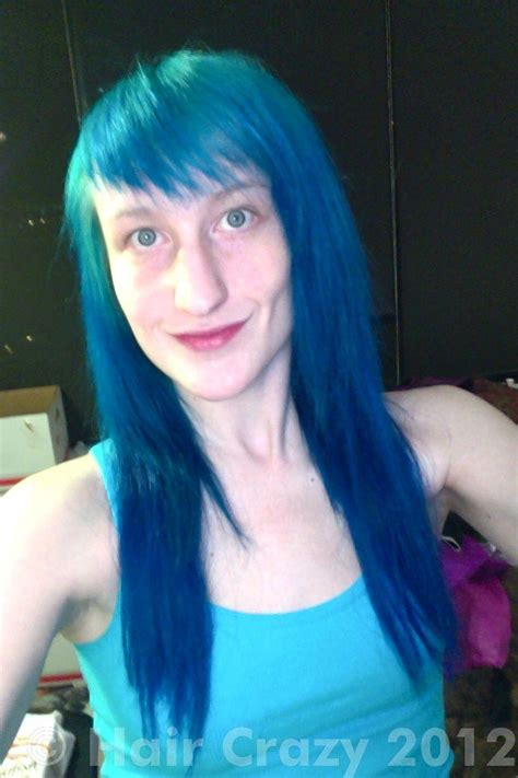 hair blue wanting to get rid of blue hair tips