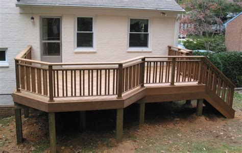 Ideas For Deck Handrail Designs Deck Design Ideas