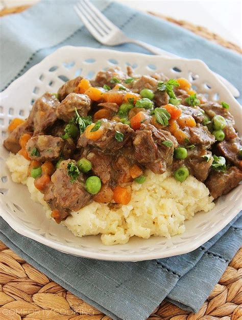 the comfort of cooking beef stew with potatoes and carrots recipe dishmaps