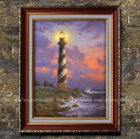 home interiors kinkade prints prints of kinkade painting cape hatteras light