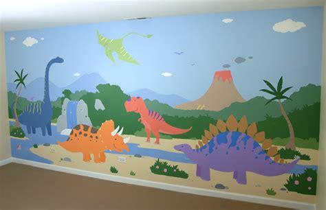 Dinosaurs Murals Walls chicago children s murals dinosaur mural dinosaur decoration