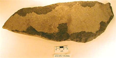 flaked basalt item