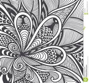 coloring book wallpaper abstract pattern in zen tangle zen doodle style black on