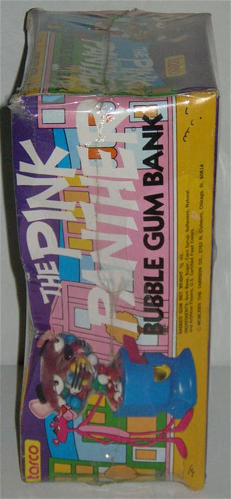 tarco bank vintage 1974 pink panther gum bank vending machine