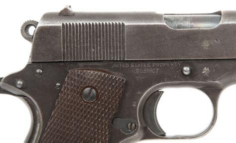 deactivated spec wwi wwii colt remington rand 1911