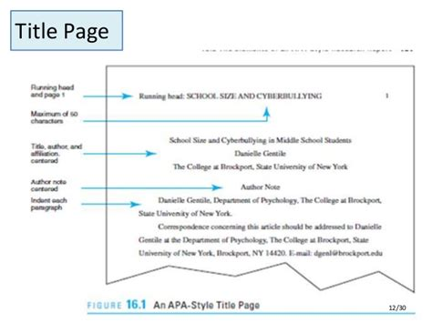 Apa Style Research Paper by Apa Style Research Paper