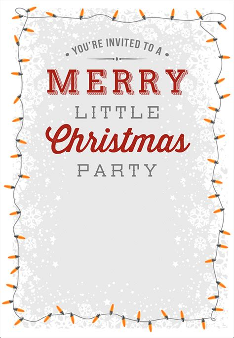 printable holiday invitation templates christmas invitation templates sle templates