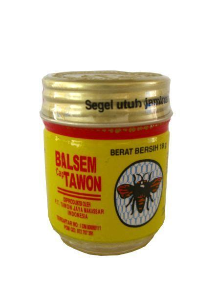 Minyak Tawon Paling Kecil balsem cap tawon waroeng nl toko indonesia anda