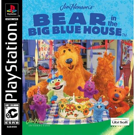 bear big blue house bear inthe big blue house