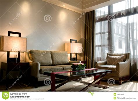 Living Room Of A Luxury 5 Star Hotel Suite Stock Image