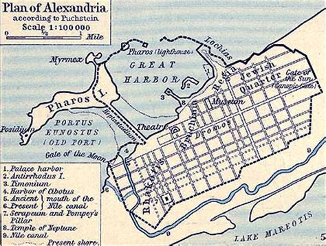 map of alexandria map of alexandria 30 bc