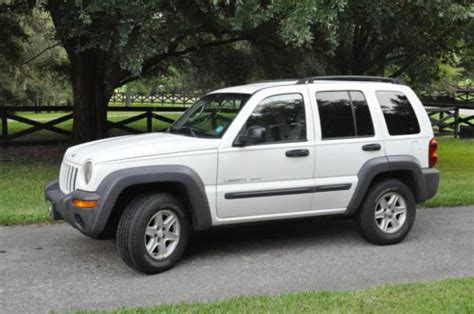 sell used 2003 jeep liberty sport 3 7l 4wd in gainesville florida united states for us 3 120 00