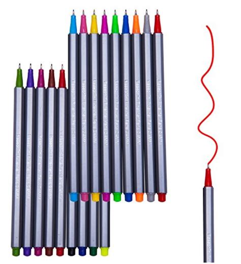 color pen set 18 fineliner color pen set