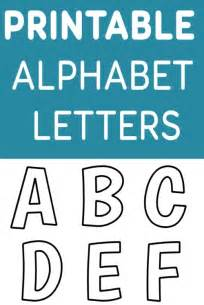 Free Printable Alphabet Templates by Printable Free Alphabet Templates