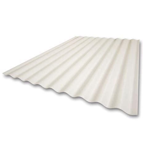 Panel Fiberglass shop sequentia 26 in x 12 ft corrugated fiberglass roof panel at lowes