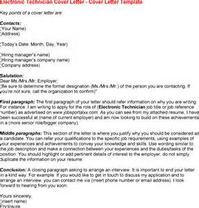 It Technician Cover Letter by Electronic Cover Letter Format Best Template Collection