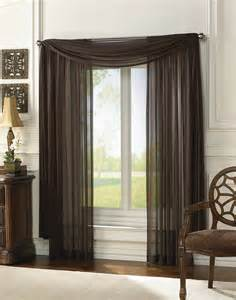 Sheer Window Curtains Delray Soft Sheer Lightweight Scarf Curtainworks