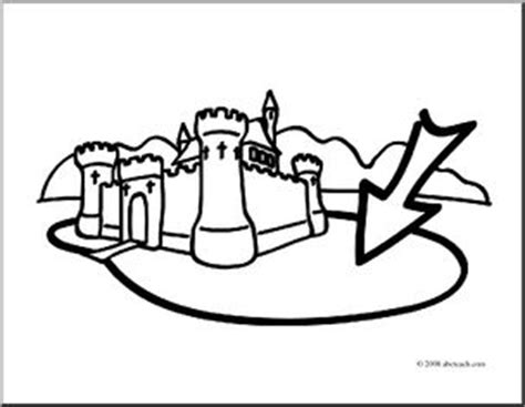 castle moat coloring page clip art basic words moat coloring page abcteach