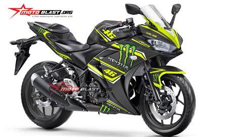 Fairing Custom R25 For Vixion Black White Energy striping honda all new cbr150r white sporty motoblast