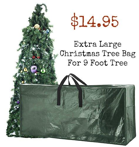 extra large christmas tree bag for 9 foot tre one