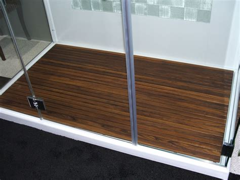 Walk In Shower Mat custom teak mat for walk in shower the bath