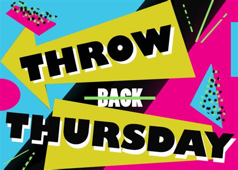 all things throwback thursday s throwback thursday social caign