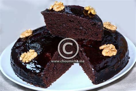 hervé cuisine cake chocolat recette cake au chocolat