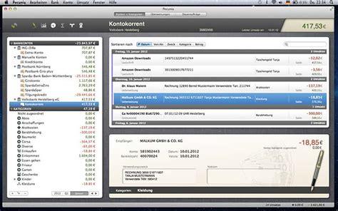 bank software kostenlos open source bankingsoftware pecunia kostenlos im mac app