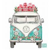 Christmas VW Volkswagen Greeting Cards