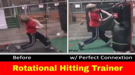 rotational swing rotational hitting aid youth baseball softball
