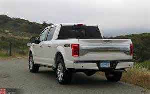 2015 ford f 150 platinum 4x4 3 5l ecoboost review with