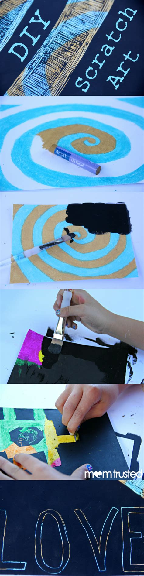 How To Make Scratchboard Paper - how to make scratchboard paper 28 images diy scratch