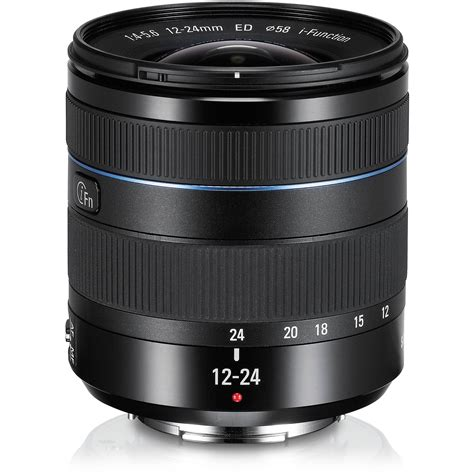 samsung 12 24mm f 4 5 6 ed wide angle zoom lens ex w1224anb us
