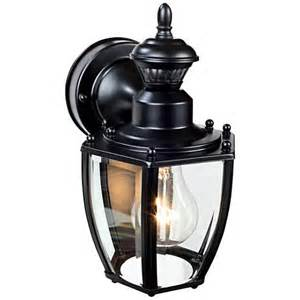 outdoor motion sensor coach lights coach black 10 3 4 quot h motion sensing outdoor wall light