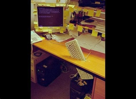 Office Prank Ideas Desk Top 10 Best Office Pranks At Work Computer Cleaning Service