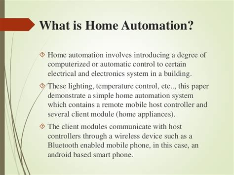 benefits of home automation design decoration