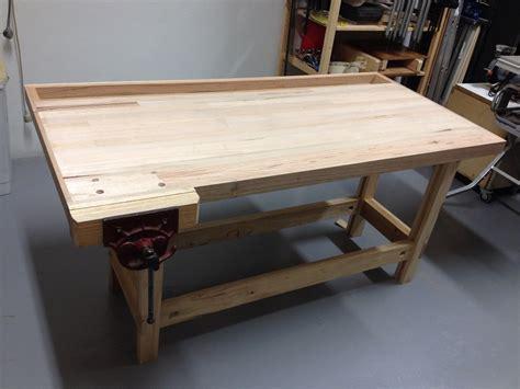 bunnings work bench alpine oak diy bunnings panel competition ash