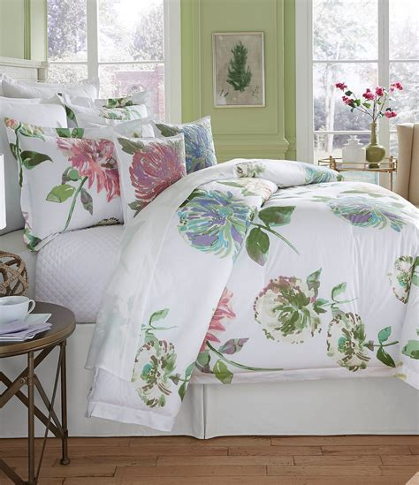 Lilac Duvet Cover Sets Southern Living In Bloom Collection Flora Watercolor