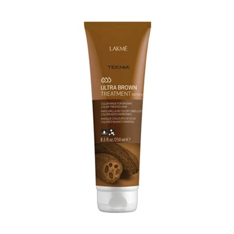 Shiseido Luminogenic Colored Hair Treatment 250 Ml lakme teknia ultra brown treatment 250ml refresh lm397