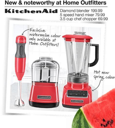 Home Outfitters Canada Deals: Monday Buzz KitchenAid Products   20% Off Printable Coupon