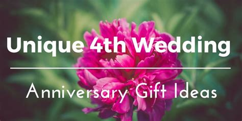 Wedding Anniversary Gift Ideas For Both by Best 4th Wedding Anniversary Gift Ideas For Him And