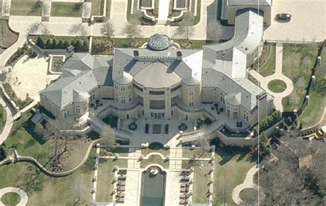 mansions in dallas updated aerial pics of newly built dallas mega mansion