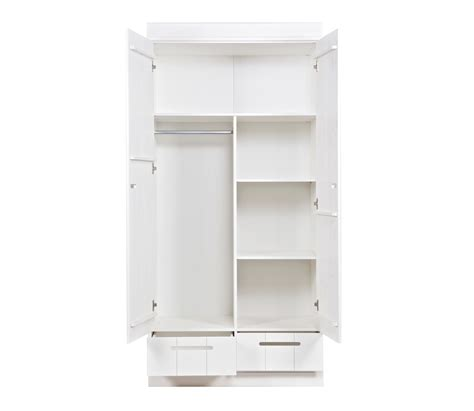 2 Door Closet 2 Door Cupboard Inside Designs Wardrobe Closet W 2 Doors 2 Shelves And 2 Interior Drawers