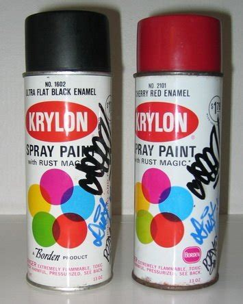 spray paint in cans krylon spray paint cans seen pjay duster ua tag