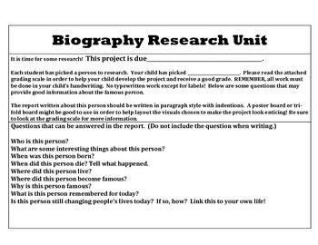 biographical research paper lesson plans 10 best images about rubrics on pinterest biography